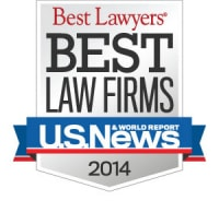 2014 US New Best Law Firms
