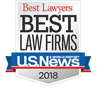2018 US New Best Law Firms