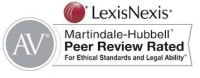 AV Preeminent - Peer Review Rated for Ethical Standards & Legal Ability, Martindale-Hubbell from LexisNexis