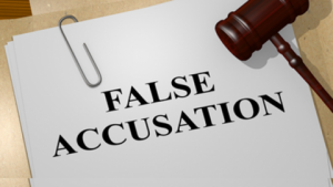 falsely accused domestic violence